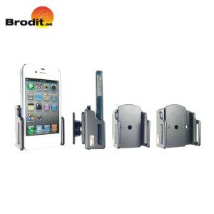 Gebruik je smartphone veilig in de auto met deze klein en compacte Brodit Case Compatibele Universele Passive holder met Tilt Swivel.