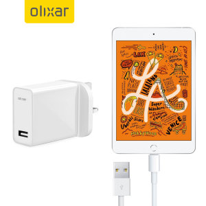 High Power iPad Mini Wall Charger & 1m Cable