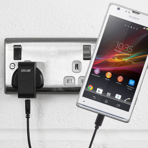 Charge your Sony Xperia SP quickly and conveniently with this compatible 2.4A high power charging kit. Featuring mains adapter and USB cable.