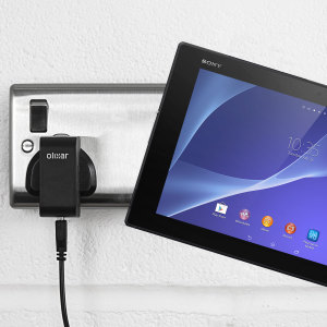 Charge your Sony Xperia Z2 Tablet quickly and conveniently with this compatible 2.4A high power charging kit. Featuring mains adapter and USB cable.