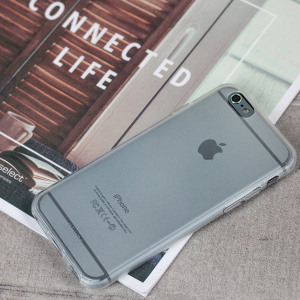 Coque iPhone 6S / 6 FlexiShield – Blanche Givrée