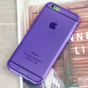 Coque iPhone 6S / 6 FlexiShield en gel – Violette