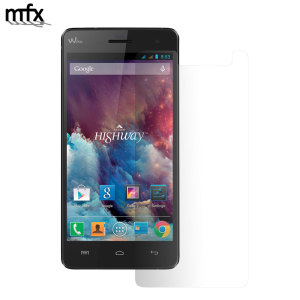 Keep your Wiko Highway 4G screen in pristine condition with this MFX scratch-resistant screen protector. Also compatible with the Wiko Highway.