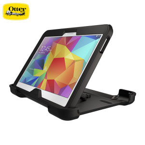 Protect your Samsung Galaxy Tab 4 10.1 with the toughest and most protective case on the market - the black OtterBox Defender Series.