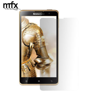 Keep your Lenovo Golden Warrior A8 screen in pristine condition with this MFX scratch-resistant screen protector.
