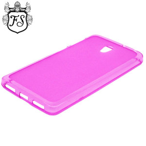Crystal case-like protection with the durability of a silicone case for the Lenovo S860 in pink.