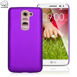Funda LG G2 Mini ToughGuard Rubberised- Morada