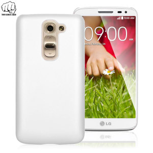 Custom molded for the LG G2 Mini, this light rubberised hybrid white ultra thin ToughGuard case provides slim fitting, durability and protection against damage.