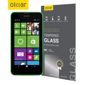 This ultra-thin tempered glass screen protector for the Nokia Lumia 630 / 635 by Olixar offers toughness, high visibility and sensitivity all in one package.