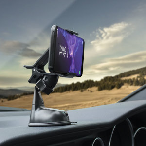 Quick, effortless and simple - the Olixar Dock & Go Car Holder is the ultimate universal in-car accessory using 'one hand' phone mounting, with patented suction mount suitable for almost any flat surface including dashboards and windscreens.