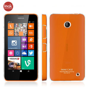 This 100% clear, slimline and robust hard plastic shell case from IMAK will protect your Nokia Lumia 630 / 635 as well as allowing the colourful styling of your phone to shine through.
