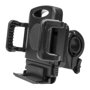 Ideal for GPS apps and listening to your music, the Olixar Universal Bike Phone Mount combines a versatile handlebar pedestal with a universal mobile phone bike holder.