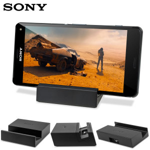 Dock and charge your Sony Xperia Z3 and Xperia Z3 Compact with the hassle-free DK48 magnetic charging dock by Sony.