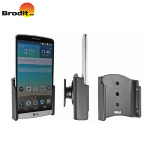 Use your LG G3 safely in your vehicle with this small, neat and discreet Brodit Passive holder, complete with tilt swivel.