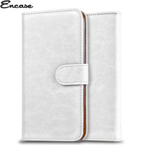 The Encase Wallet Case in white sticks to the back of your Wiko Kite 4G to provide enclosed protection and can also be used to hold you credit cards.