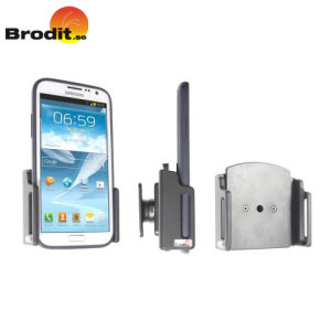 Use your smartphone safely in your vehicle with this small, neat and discreet Brodit Universal Passive holder for large smartphones, complete with tilt swivel.