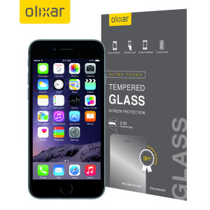 Olixar Tempered Glass iPhone 6 Displayschutz
