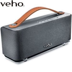 Connect your phone, tablet or computer to the magnificently sounding Veho M6 360° Mode Retro Bluetooth Speaker that truly has to be heard to be believed, with stereo sound that will awaken your musical soul with its stunning quality both visually and audi