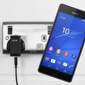 Charge your Sony Xperia Z3 quickly and conveniently with this compatible 2.4A high power charging kit. Featuring mains adapter and USB cable.