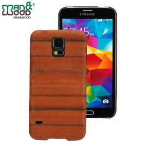 A beautiful genuine wood case for your Samsung Galaxy S5. Selected premium woods from sustainable sources are crafted into a form-fitting case for your phone that is as stunning as it is protective.