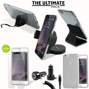 Het ultieme iPhone 6 Plus accessoire pakket bevat must-have items voor je iPhone 6 Plus. Ontworpen om je iPhone 6 Plus te beschermen en op te bergen: thuis, op kantoor en in de auto.