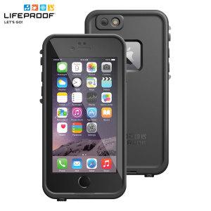 Disfrute de la libertad de navegar, cantar en la ducha, esquí, snowboard, con su iPhone 6 donde quiera que vaya con la funda LifeProof Fre en negra.