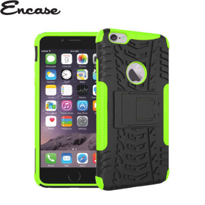 Coque iPhone 6 Plus Encase Armourdillo Hybrid – Verte
