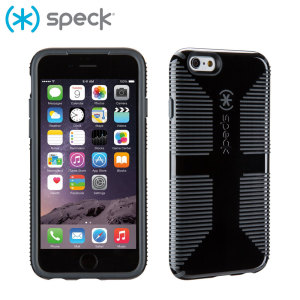 Coque iPhone 6S / 6 Speck CandyShell Grip – Noir / Gris
