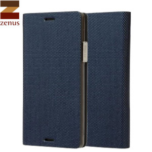 The Metallic Diary Case from Zenus in navy is an ultra thin flip case, that integrates beauty and functionality with the note 4.