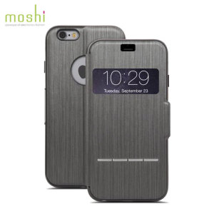 Funda iPhone 6 Plus Moshi SenseCover - Acero Pulido