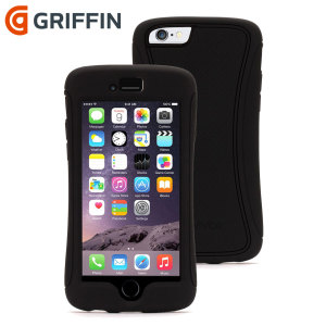 Dual layered drop protection from up to 2 metres, the Griffin Survivor Slim in black provides tough and sturdy protection for the iPhone 6 in a light and bulk free package.