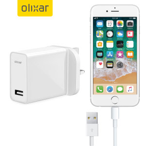 Charge your Apple iPhone 6 Plus quickly and conveniently with this compatible 2.5A high power charging kit. Featuring mains adapter with Lightning connection cable. It's also fully compatible with iOS 7 and later, so no annoying warnings.