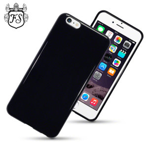 Custom moulded for the iPhone 6 Plus. This solid black FlexiShield case from Encase provides a slim fitting stylish design and durable protection against damage, keeping your iPhone looking great at all times.