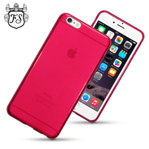 Custom moulded for the iPhone 6 Plus. This red FlexiShield case from Encase provides a slim fitting stylish design and durable protection against damage, keeping your iPhone looking great at all times.
