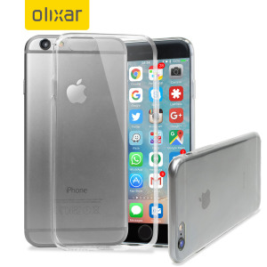 Custom moulded for the iPhone 6 Plus. This 100% Clear case from Olixar provides a slim fitting stylish design and durable protection against damage, keeping your iPhone looking great at all times.