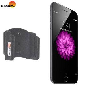Use su  iPhone 6 Plus en el coche de forma segura con este pequeño y discreto soporte pasivo Brodit