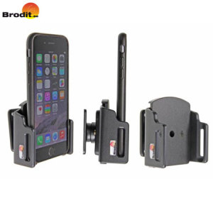 Use your iPhone 7 / 6S / 6 safely in your vehicle with this small, neat, discreet and slim case compatible Brodit Passive holder, complete with a tilt swivel.
