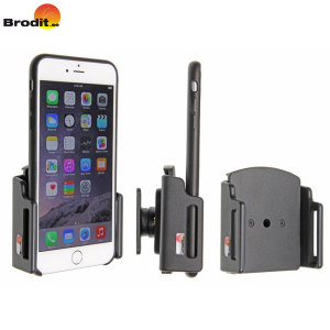Use your iPhone 7 Plus / 6S Plus / 6 Plus safely in your vehicle with this small, neat, discreet and slim case compatible Brodit Passive holder, complete with a tilt swivel.
