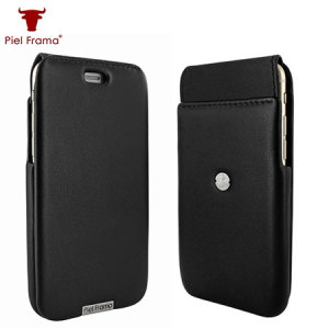 This black genuine handmade case designed for the iPhone 6S Plus / 6 Plus features a stunning design with attention to detail seen in all Piel Frama cases.