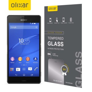 This ultra-thin tempered glass screen protector from Olixar for the Sony Xperia Z3 offers toughness, high visibility and sensitivity all in one package.