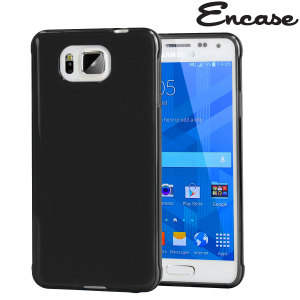 Custom moulded for the Samsung Galaxy Alpha. This black FlexiShield case from Encase provides a slim fitting stylish design and durable protection against damage, keeping your Alpha looking great at all times.
