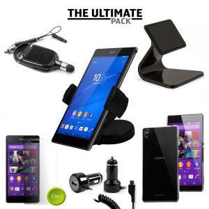 The Ultimate Pack for the Sony Xperia Z3 consists of fantastic must have accessories designed specifically for your device.