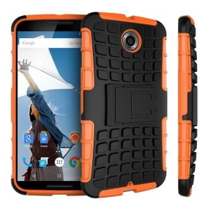 Coque Google Nexus 6 ArmourDillo Encase – Orange