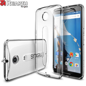 Coque Google Nexus 6 Rearth Ringke Fusion - Transparente