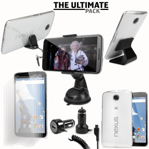 Het ultieme Nexus 6 accessoire pakket bevat must-have items voor je Nexus 6. Ontworpen om je Nexus 6 te beschermen en op te bergen: thuis, op kantoor en in de auto.