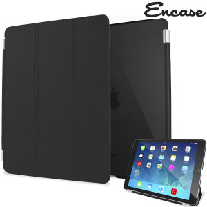 The black Encase Smart Cover ant the iPad Air 2 were made for each other. Built-in magnets draw the Smart Case to the iPad Air 2 for a perfect fit that not only protects, but also wakes up, stands up and brightens up your iPad Air 2.