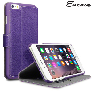 All the benefits of a wallet case but far more streamlined. The Low Profile in purple is the perfect partner for the the iPhone 6 Plus owner on the move. What's more, this case transforms into a handy stand to view media.