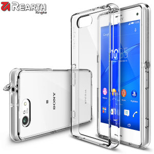Protect the back and sides of your Sony Xperia Z3 Compact with this incredibly durable and clear Fusion Case by Ringke.