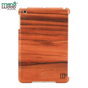 Una funda elegante de auténtica madera para su iPad Mini 3 / 2 / 1. Fabricada con madera seleccionada le protegerá a su dispositivo de arañazos y pequeños golpes.