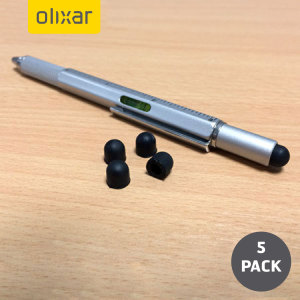Official 5 pack of replacement stylus tips for the Olixar HexStyli.